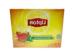 Lipton 100% Natural Decaf Black Tea  - FREE SHIPPING