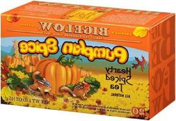 "BIGELOW ""PUMPKIN SPICE BLACK TEA, 1 BOX 20 TEA BAGS, GLUTEN-"