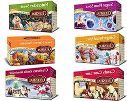 Bundle: Celestial Seasonings Holiday Tea Sampler 6-pack