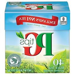 P G Tips Natural Black Tea, 40 ct by PG Tips
