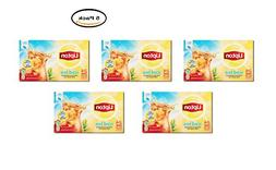 PACK OF 5 - Lipton Gallon-Sized Black Iced Tea Bags Unsweete