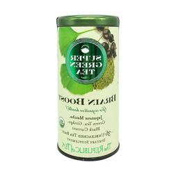 Republic of Tea - Organic BRAIN BOOST Super Green Tea - NEW