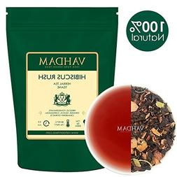 VAHDAM, Hibiscus Rush Herbal Tea Loose Leaf  | Hibiscus Tea