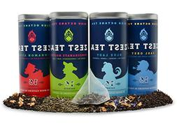 Zest Tea - Sampler Pack of High Caffeine Teas, 64 Tea Sachet