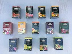 Ahmad London Teas: Fruit Flavoured Black Teas