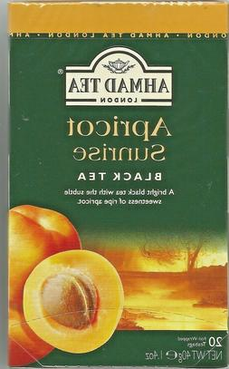 Ahmad Apricot Sunrise Flavoured Black Tea - Pack of 2