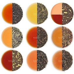 Assorted Loose Leaf Tea - 10 TEAS, 50 SERVINGS - Black Tea,