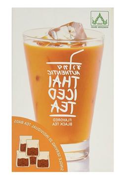 Authentic Thai Iced Tea Flavored Black Tea, 20 Tea bags - NE