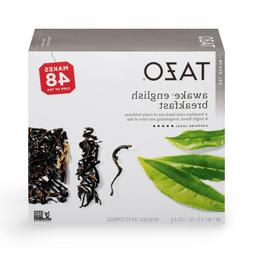Tazo AWAKE ENGLISH BREAKFAST BLACK TEA 48 FILTERBAGS 48 Cups