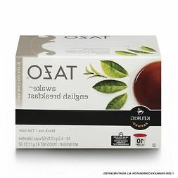 Tazo Awake English Breakfast Black Tea K-Cup, 10 ct