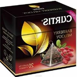Curtis Barberry Melody Black tea 20 pyramids per box USA Shi