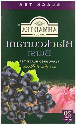 Ahmad Tea Black Tea, Blackcurrant Burst, 20 Ounce