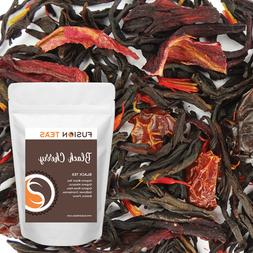 Black Cherry Black Tea - Premium Loose Leaf Blend - Fusion T