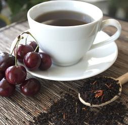 Black Cherry Tea - loose leaf or tea bags choose qty -sure t