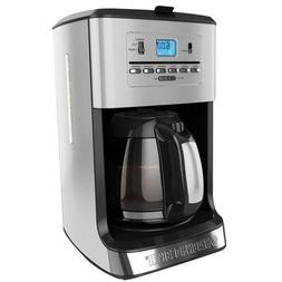 Black & Decker CM3005S 12-Cup Programmable Coffee & Tea Make