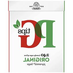 PG Tips Black Tea, Pyramid Tea Bags, 240-Count Box Pack of 2
