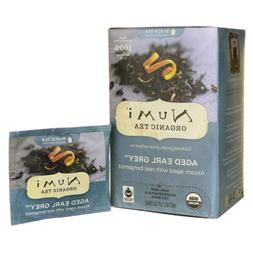 Organic Teas and Teasans, 1.27oz, Aged Earl Grey, 18/Box