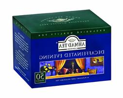 Ahmad Tea Black Tea, Decaffeinated Evening, 50 Count