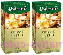 Greenfield Black Tea Easter Cheer SET of 2 BOXES X 25 = 50 T