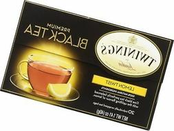 Twinings Premium Black Tea Lemon Twist -- 20 Tea Bags