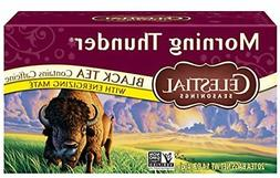 Celestial Seasonings Black Tea, Morning Thunder with Maté,