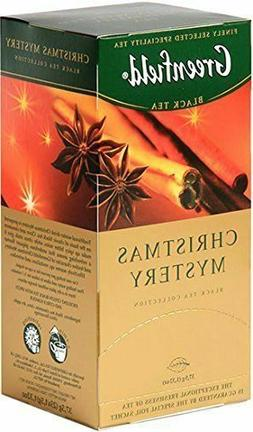 GREENFIELD Black Tea Russian Christmas Mystery 25 Count per