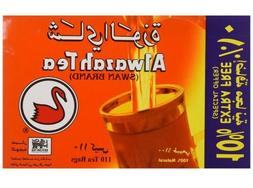 Alwazah Black Tea Swan Brand Finlays 100% Pure Ceylon 110 Ba
