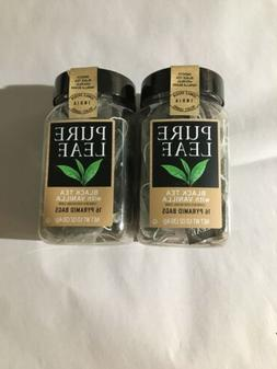 Pure Leaf  Black Tea with Vanilla Pyramid Bags Lot of 2 Boxe