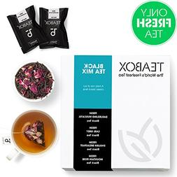 Teabox Black Tea Mix Pack | 4 VARIETIES of our Specialty and