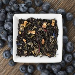 Blueberry flavored  Black Tea Organic 2 ounce loose leaf   s