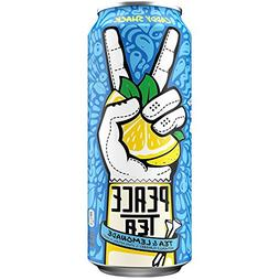 Peace Tea Caddy Shack Black Tea Lemonade Drink, 23 fl oz, 12