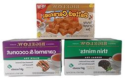 Caramel & Girl Scout Cookie Tea Bundle - Three items: Salted