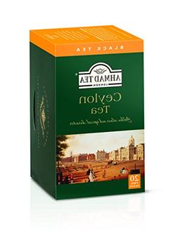 Ahmad Tea Ceylon Tea, 20-Count Boxes