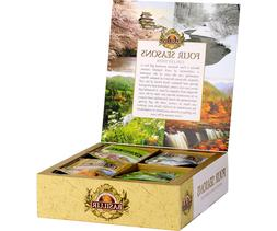 Basilur Ceylon in Assorted Four Seasons individually wrapped