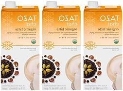 Tazo Chai Organic Tea Latte Concentrate 32-ounce Boxes Pack