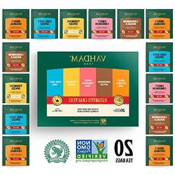 VAHDAM, Chai Tea Sampler, 5 TEAS - Tea Variety Pack | Assort