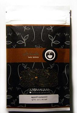 Mahamosa Cinnamon Orange Tea 2 oz - Loose Leaf Flavored Blac
