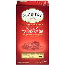 Twinings Classics English Breakfast Tea -- 25 Tea Bags