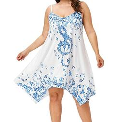 Dress Clearance !!! SanCanSn Women Plus Size Music Note Prin
