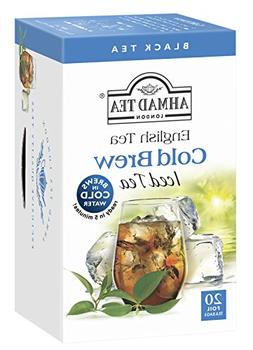 Ahmad Tea Cold Brew Iced Tea, English, 20 Count
