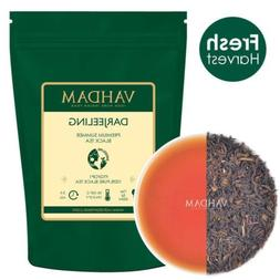 VAHDAM, Darjeeling Black Tea Leaves from Himalayas - 150+ Cu