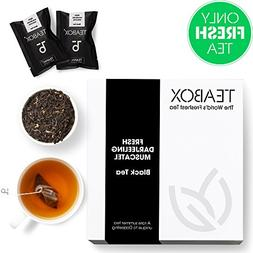 Teabox Fresh Darjeeling Muscatel Black Tea | Fragrant High-g