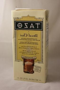 Tazo Decaf Chai, Spiced Black Tea, Decaffeinated Concentrate