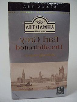 Ahmad Decaf Earl Grey Tea - 20 Teabags