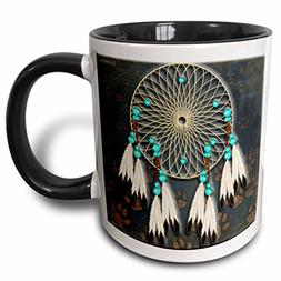 3dRose  Designer One of A Kind Native American Art - Two Ton