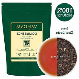Double Spice Masala Chai Tea ​, STRONG & SPICY, 100% N​a