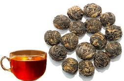 Dragon Pearls Black Tea - Caffeinated - Loose Leaf Tea