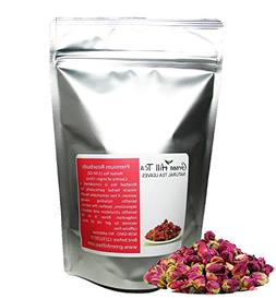 Greenhilltea Premium Dried Rose Buds Rosebud Flower Herb Loo