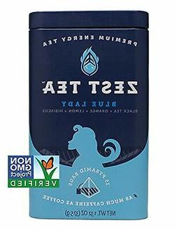 Energy Tea  - High Caffeine Blue Lady Black Tea - 150 Mg Of