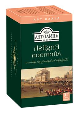 Ahmad Tea English Afternoon Tea, 20-Count Boxes